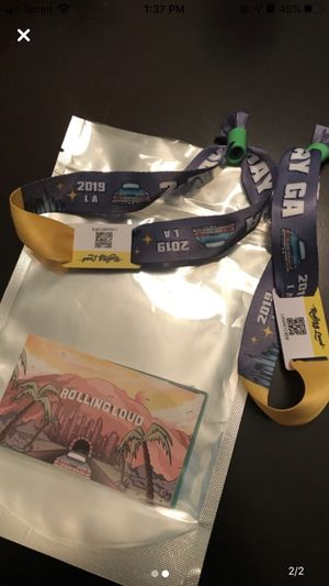 Rolling loud GA for Sale in Anaheim, CA