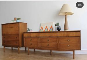 OPEN7DaysAWeek Mid Century Modern Dresser Cabinet Stand Drawers Table Chair Sofa Rug Lamp Art Decor Credenza @BigWhaleConsignment GreenwoodSeattle for Sale in Seattle, WA