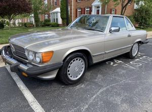 1986 Mercedes Benz 560 SL roadster 100k for Sale in Severn, MD