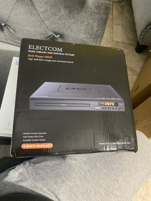 DVD player HDMI electcom for Sale in South Amboy, NJ