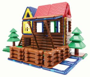 Brand new Magformers Log Cabin 87 Piece for Sale in La Mesa, CA