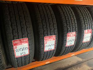 225 75 15 trailer tires used for Sale in Colton, CA