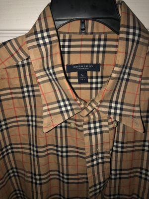Burberry London dress shirt size L for Sale in Phoenix, AZ
