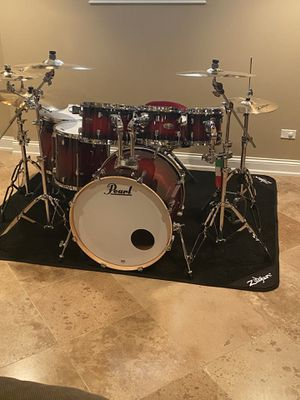 Pearl Decade Maple Red Burst 7 piece Set for Sale in Chicago, IL
