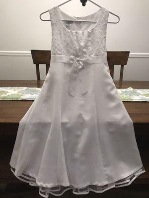 Flower Girl Formal White Dress for Sale in DeBary, FL