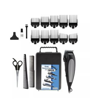 Wahl 18 Piece Home Cut Men Hair Cut Trimmer Kit Clippers Haircut Barber Complete for Sale in Pittsburgh, PA