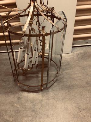 Glass chandelier! for Sale in Scottsdale, AZ