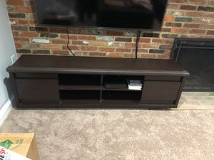 Wide modern TV stand for Sale in Alexandria, VA
