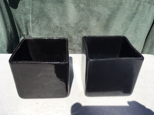 "Ceramic Planter Pots, Succulent Cactus Plant Containers,4 1/2""W X4""H $3. Ea for Sale in Palmdale, CA"