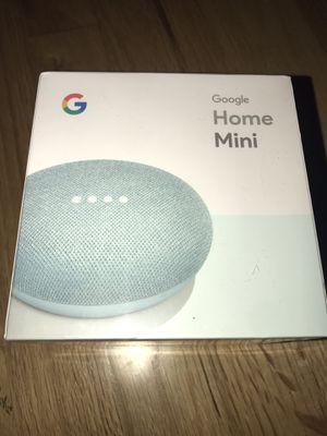 Google home mini aqua (x2 available) for Sale in San Francisco, CA