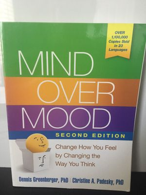 Mind over mood book for Sale in Long Beach, CA