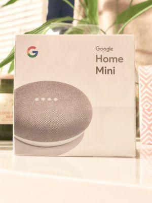 Brand new Google Home Mini - SEALED! (Chalk color) for Sale in Boston, MA