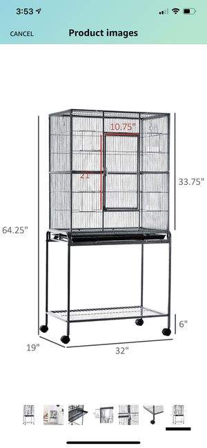 Large bird cage for Sale in Corona, CA