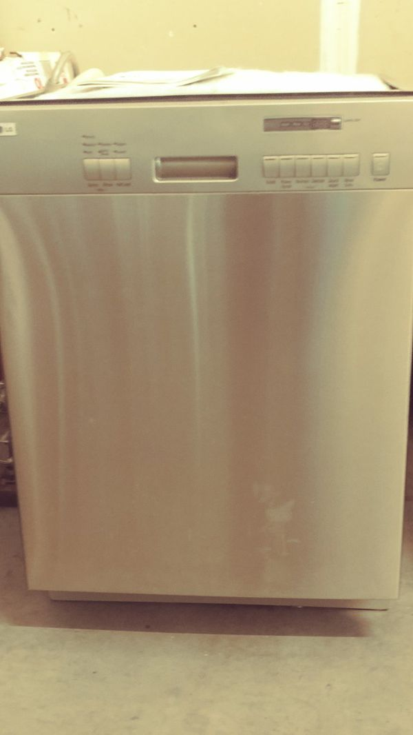 Brand new LG stainless in/out dishwasher