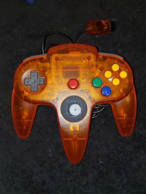 Nintendo 64 Fire Orange Controller N64 - Beautiful & Tight for Sale in Bakersfield, CA