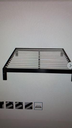 Platform Bed Frame - King - Brand new in box for Sale in Rensselaer, NY