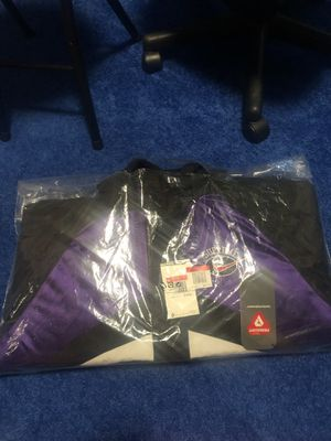 Supreme x Nike Hooded Sports Jacket (Purple) (L) for Sale in Manhattan Beach, CA