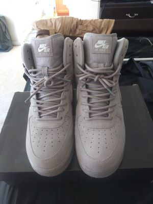 '07 SUEDE NIKE AIR FORCES for Sale in San Leandro, CA