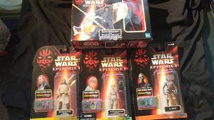 Star Wars Action Figures Episode 1 All set of 4 for Sale in South Salt Lake, UT