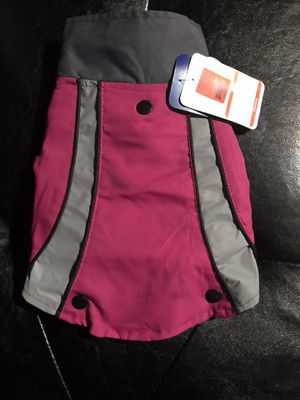 Two in One Hot Pink Reflective Dog Jacket/Sweater for Sale in Prairieville, LA