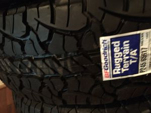Brand New Set P245/65r17 BF Goodrich Tires for Sale in Liberty, SC