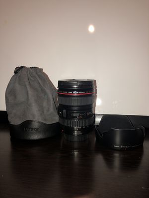 Canon 24-105mm f/4 L for Sale in Fort Lauderdale, FL