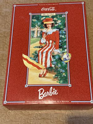 New Coca-Cola Mattel Barbie doll for Sale in Tracy, CA