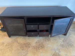TV Media Cabinet -Crate and Barrel for Sale in Temecula, CA
