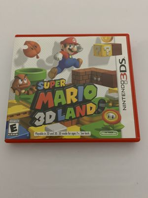 Mario 3D Land (Nintendo DS) for Sale in Savannah, GA