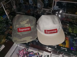 Supreme Box Logo Washed Camo Camp Cap for Sale in Hollywood, FL