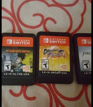 Games Nintendo switch and 3ds for Sale in San Diego, CA