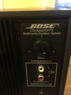Bose multimedia speakers for Sale in San Jose, CA
