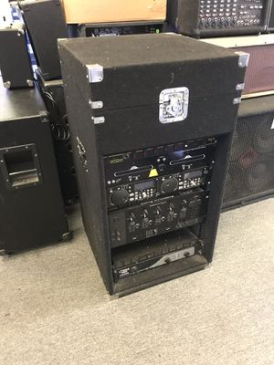 Mixed equipment DJ cabinet for Sale in Los Angeles, CA