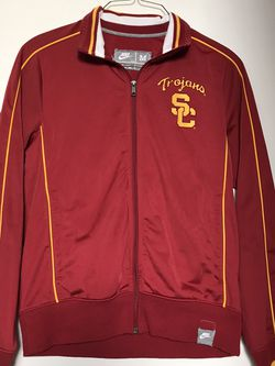 U S C Trojans Nike Brand Jacket Size Medium Stitch Letters Great Condition for Sale in Reedley,  CA