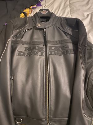Harley Davidson men's biker jacket-Large for Sale in Frisco, TX