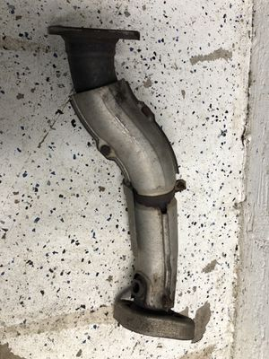 Evo x oem down pipe oxygen sensor pipe after the o2 housing precat exhaust pipe for Sale in Palatine, IL