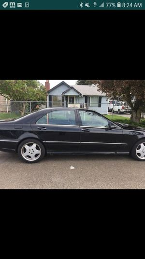 2002 s500 mercedes for parts for Sale in Seattle, WA