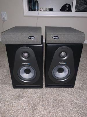 Samson Resolv SE 5 Studio monitors & Auralex Isolation pads for Sale in Phoenix, AZ
