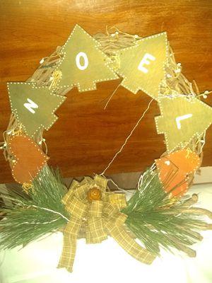 Christmas wreath for Sale in Cullen, VA