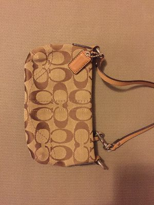 Small Brown Coach Wristlet for Sale in Pittsburgh, PA