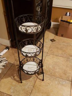3 Tier Basket Rack for Sale in Riverside,  CA