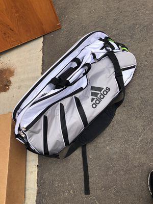6 racket adidas tennis bag for Sale in Clovis, CA