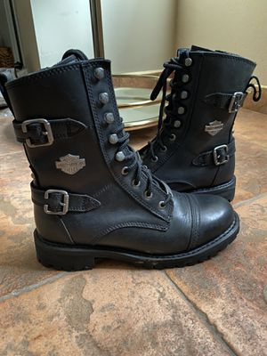 Women's Harley Davidson Motorcycle Boots for Sale in San Bernardino, CA