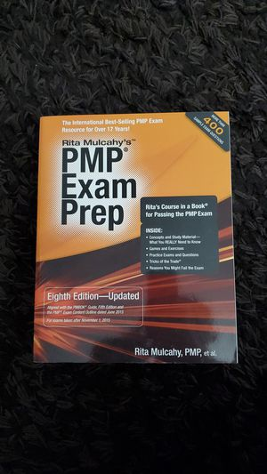 PMP Exam Prep Eighth Edition - Updated for Sale in Phoenix, AZ