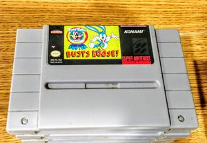 Super Nintendo Busts Loose Game for Sale in Wells, ME