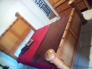 Bedroom set solid hard wood for Sale in SUNNY ISL BCH, FL