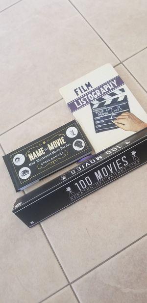 Movie Game / Journal / Poster for Sale in Alafaya, FL