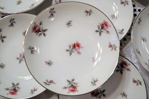 Antique Fine China Rose chitz for Sale in Portland, OR