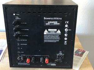 Marantz NR 1506 audio receiver, Martin Logan Motion 8 Center Speaker, Bowers & Wilkins ASW 608 Sub Woofer for Sale in Chandler, AZ