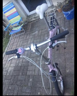 folding bicycle good conditions for Sale in Gaithersburg, MD